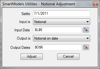 util notional output