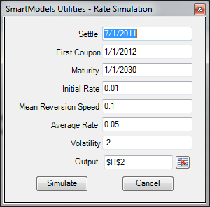 util rate simulation