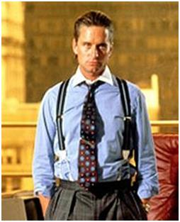 Wall Street Michael Douglas